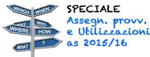 Pubblicazione delle operazioni di utilizzazione e assegnazione provvisoria provinciale dei docenti a tempo indeterminato della scuola secondaria di 1° grado – a.s. 2015/2016.