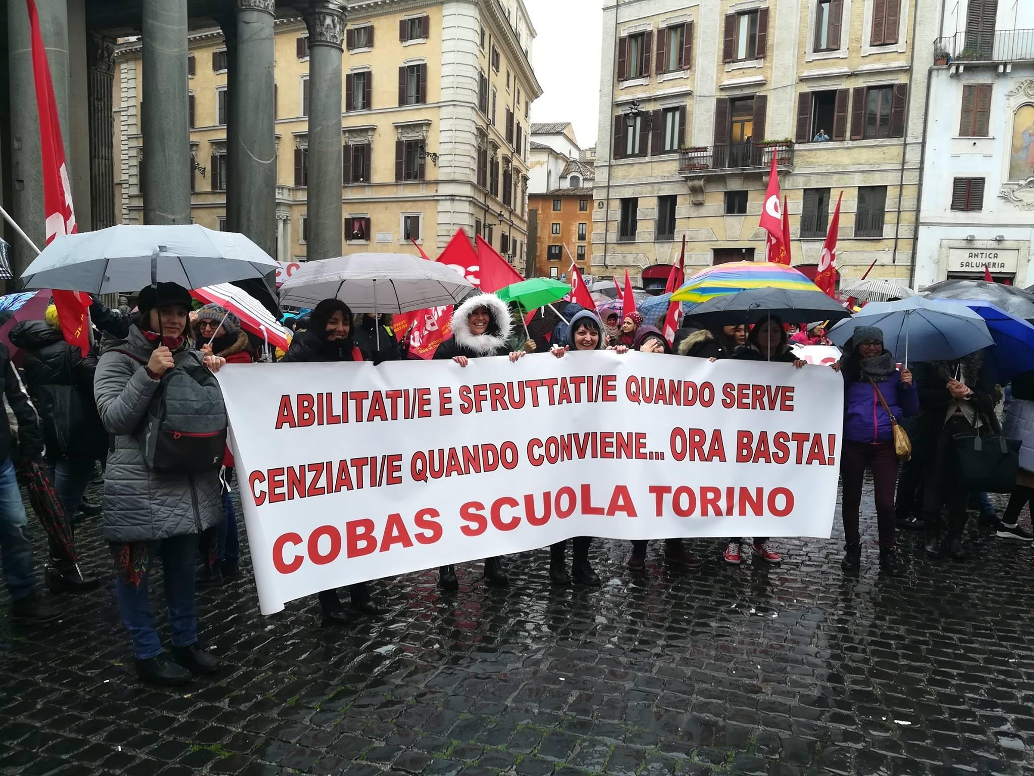 Ufficio A Ore Torino : Cobas scuola torino